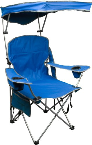 Quik Shade Fully Adjustable Folding Chair with Carrying Bag (Royal Blue)