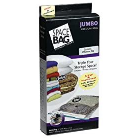 ITW Space Bag BRS-5400ZG Vacuum-Seal Storage Bag, Jumbo