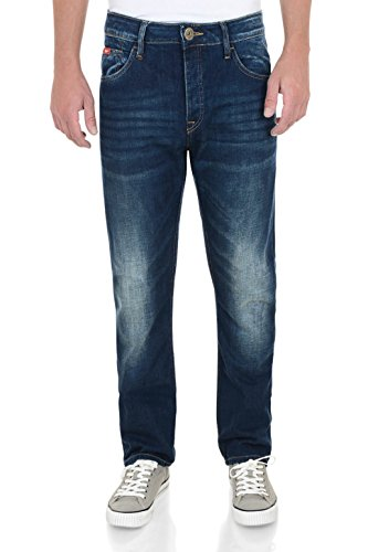 Lee Cooper -  Jeans  - Straight  - Uomo Mid Wash 38W x 32L