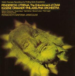 ペンデルツキ:ウトレンニャ~キリストの埋葬&パーシケッティ:交響曲第9番