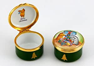Wedding Gift List Battersea : Bilston Battersea Enamels-Winnie the Pooh Christmas Box: Amazon.co.uk ...