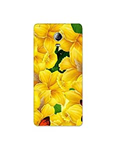 lenovo p1 turbo ht003 (134) Mobile Case by Mott2 - Bell Flower with Butterfly (Limited Time Offers,Please Check the Details Below)