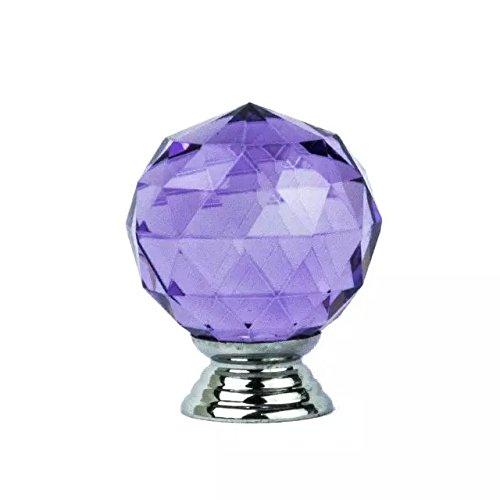 DECOOL (TM) 10pcs 1.6″ lila Diamant Kristall Moebelknopf Moebelknoepfe Moebelgriffe Moebelknauf Griff Knopf Schrankgriff jetzt bestellen