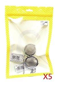 10 X Qzoxx Stainless Steel Mesh Tea Balls by eFuture