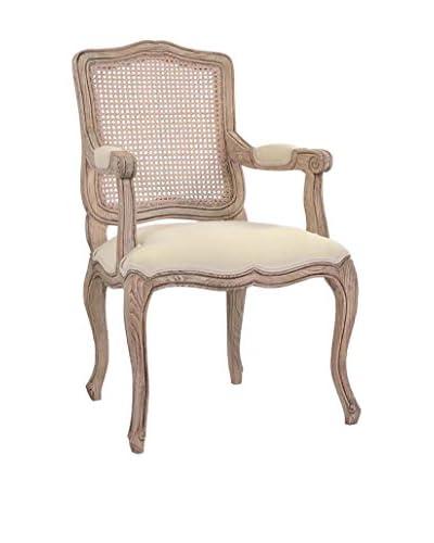 Jeffan Arthur Dining Arm Chair, Light Natural