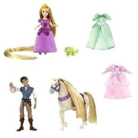 Toy Game Disney Tangled Rapunzel Deluxe Story Bag Girls Can Play Favorite