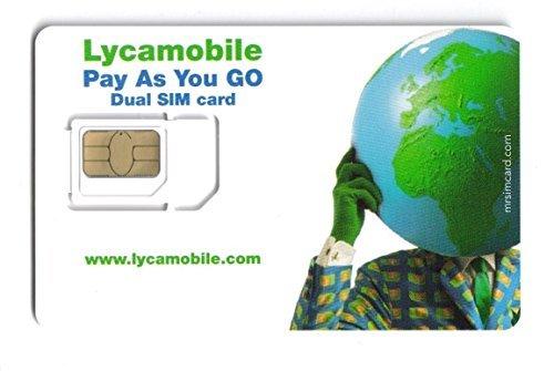 LYCAMOBILE MICRO/ STANDARD CARTE SIM GB ACHETEURS SEULEMENT S'IL VOUS PLAÎT