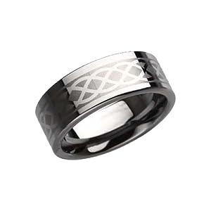 Tungsten Wedding Rings for Men (8mm)