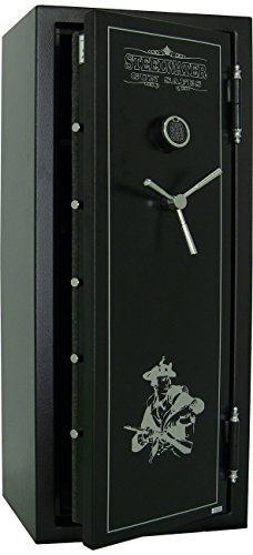 Steelwater 20 Long Gun Fire Protection for 45 Minutes Sw592818-blk by Steelwater Gun Safes