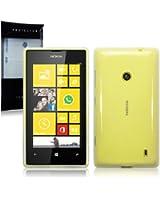 "Étui ""Terrapin"" en Gel TPU pour Nokia Lumia 520 - Clear"