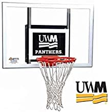 Jr Wall Mount Basketball Hoop w UWM Milwaukee Panthers Logo
