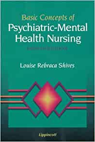 psychiatric and mental health nursing 4th pdf