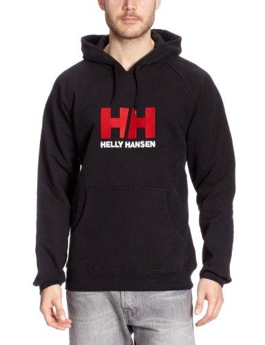 Helly Hansen Hh Logo Hoodie - Sudadera  para hombre, color negro, talla S
