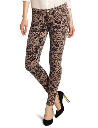 PAIGE Women's Verdugo Ultra Skinny Jean, Chai/Black, 24