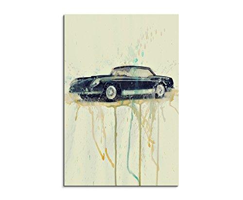 ferrari-superamerica-400-90-x-60-cm-wall-art-canvas-print-fotoleinwand-watercolour-painting-by-paul-