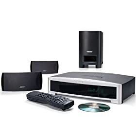 Bose 3-2-1 GS Series II DVD Home Entertainment System - DVD surround system - radio / DVD - graphite gray
