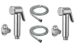 Universal Health Faucet With Tube And Hook (Set Of 2) Jet Spray Universal-P132