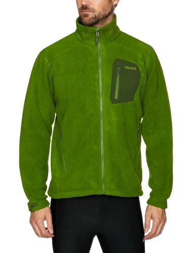 Marmot Men's Warmlight Fleece Jacket - Green Pepper, Large
