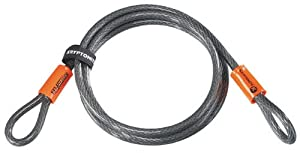 Kryptonite Kryptoflex 7 ft Cable Lock (10 mm x 213 cm)