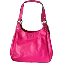 New Women/'s Ohh Ashley 100/% Genuine Leather Small Size Slouch Hobo Pink