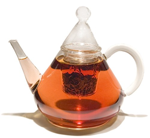 GROSCHE Merlin All-Glass Hand Blown Glass Teapot 1200ml / 41oz. (Smallest Electric Tea Kettle compare prices)