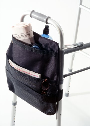 Drive Medical Deluxe Side Walker Carry Pouch, Black (Side Pouch compare prices)