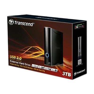 Transcend 3.5-inch 3 TB USB 3.0 StoreJet (TS3TSJ35T3)