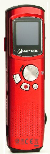 Aiptek 1.1 inch 4GB OLED Display VoiceCam with Voice Recorder and HD Camcorder - Red Reviews