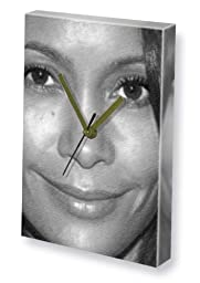 THANDIE NEWTON - Canvas Clock (LARGE A3 - Signed by the Artist) #js001