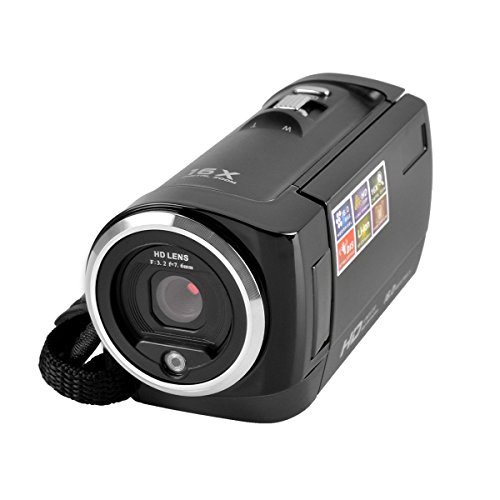 powerlead-cam06-720p-16mp-digital-video-camcorder-camera-dv-dvr-27inch-tft-lcd-16x-zoom-for-gifts-bl