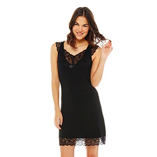 innocente-chemise-de-nuit-noir-42-44