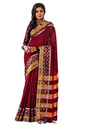 Lemoda Cotton Printed Handwooven Saree For Women MMUKE52863610240-70000036