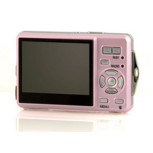 "Vivitar V5399 Digital Camera With Water Proof Case - Pink (5.0 MP,4x Digital Zoom) 2.4"" Colour TFT Screen"