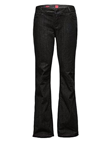 Womens Plus Size Relaxed Bootcut Baggy Leg Jeans