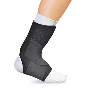 EZ-ON Wrap Around Ankle Support - X-Large - 40-5501LBLK