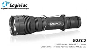 Eagletac G25C2 XM-L U2 LED Light 770 Lumens