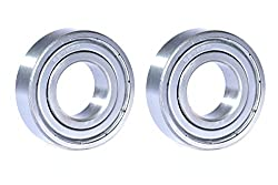 Best Quality Ball Bearing for Industrial, Automobile & General Purpose. (Pack of TWO Bearings) Model :- 6205-ZZ, SIZE : ID-25mm/OD-52mm/THICK-15mm. MAA-KU