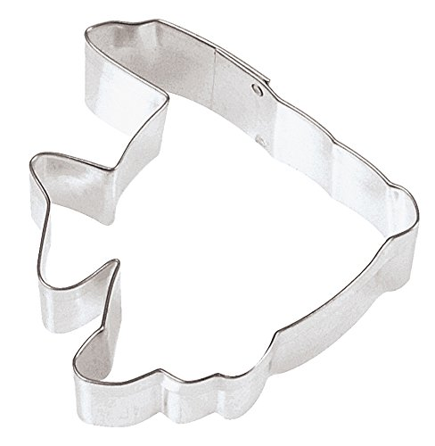 Fox run 3 inch tropical fish cookie cutter 307340237616 for Fish shaped cookie cutters