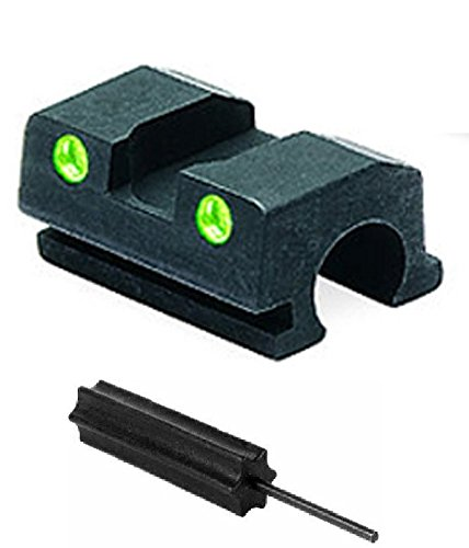 Meprolight The Mako Group Ml18801R.S Walther P99, S&W 99 Tru-Dot® Night Sight Rear Sight- 9Mm & .40 + Ultimate Arms Gear Pro Disassembly 3/32 Pin Punch Armorers Gunsmith Tool