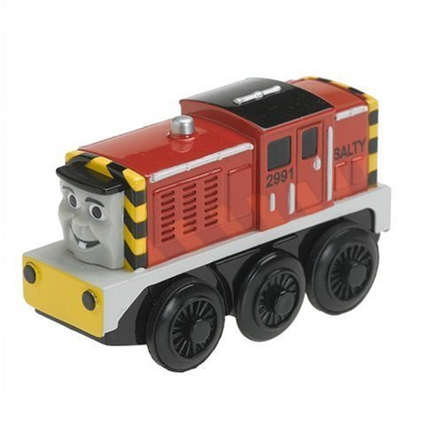 Battery Powered Salty with Free Track From Thomas the Tank Engine and Friends Wooden Railway Train System