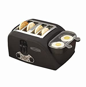 Back to Basics TEM4500 4-Slot Egg-and-Muffin Toaster