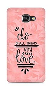 AMEZ do great things with love Back Cover For Samsung Galaxy A5 (2016 EDITION)