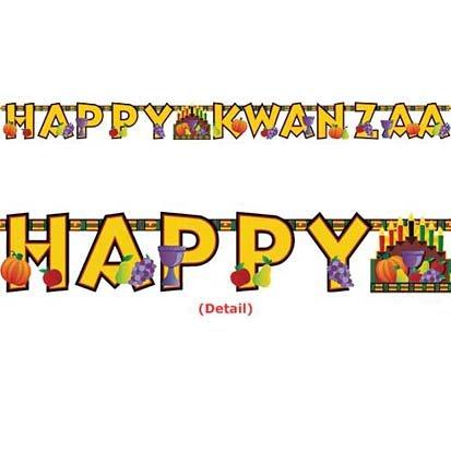 Kwanzaa Letter Banner 7ft