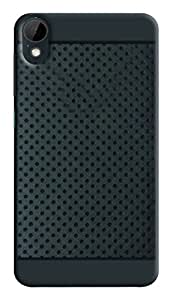 HTC Desire 825 Soft Dotted Rubberised Back Case Cover with Premium Quality(For HTC Desire 825)