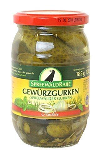 Spreewald Rabe cucumber pickles 185g