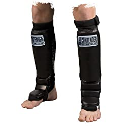 Contender Fight Sports MMA Grappling Shin Guards (Black) from Contender Fight Sports