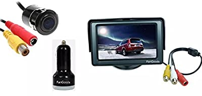 """Generic Portable 4.3"""" TFT LCD Digital Color Screen Monitor for Car Rear View Backup Camera from The Rear View Camera Center"""