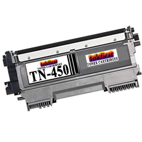 High Yield Toner Cartridge TN-450 (TN450) Compatible Remanufactured for Brother TN-450 Black