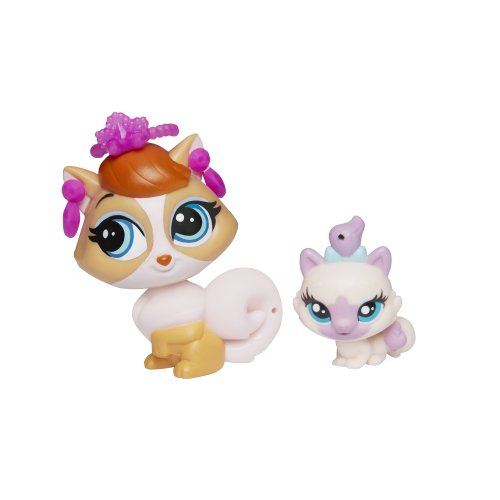 Littlest Pet Shop Pet Pawsabilities Madame Pom LeBlanc & Paprika Price - 1