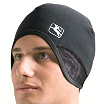 Giordana Thermo Plus Skull Cap w/WindTex Ear Flaps - Black - GI-SKULLCAP-CO